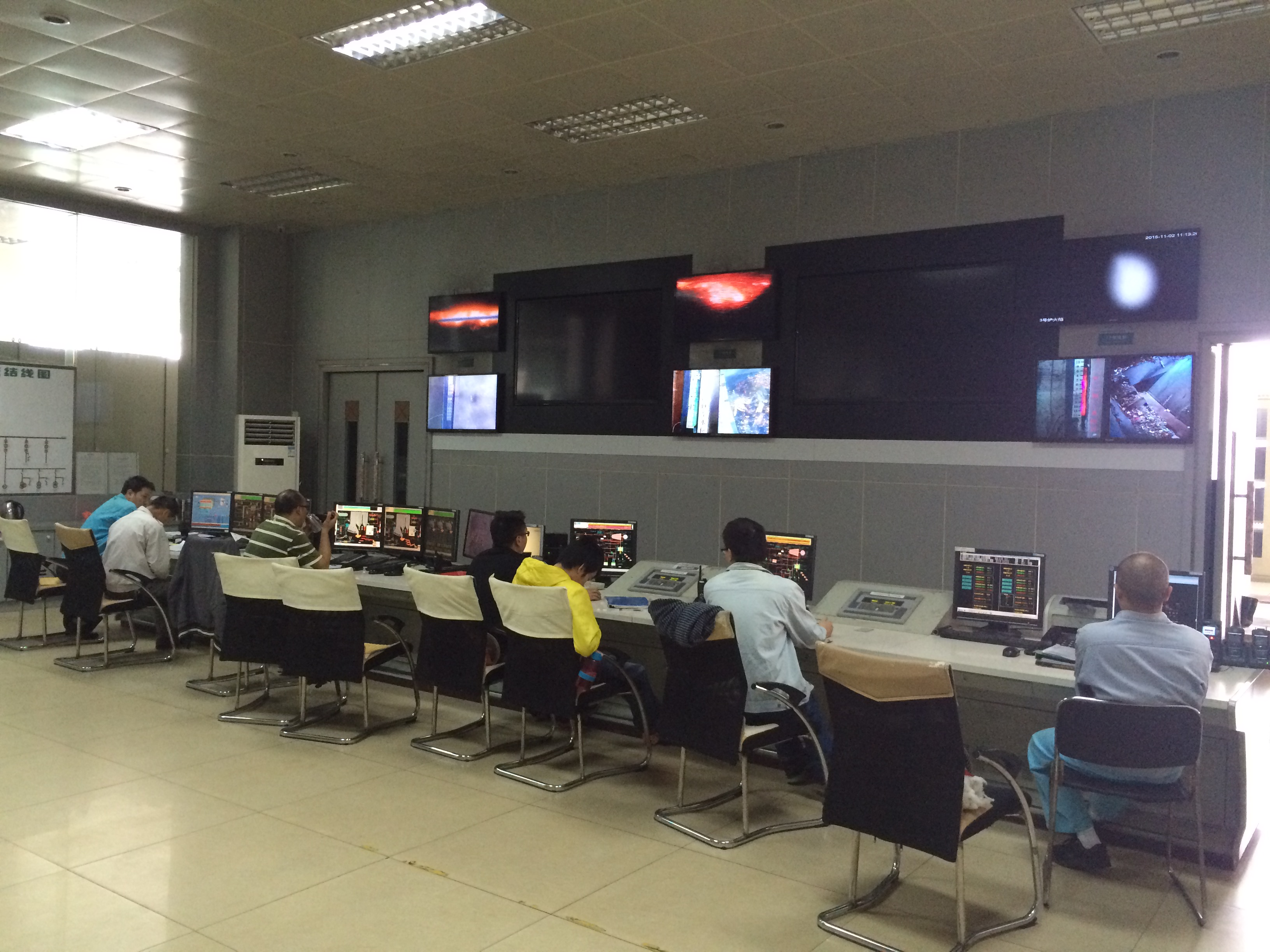 Control Room at the ZhongShan WtE Plant
