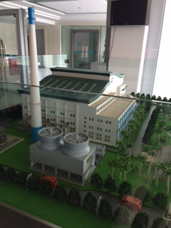 Model of the ZhongShan WtE plant